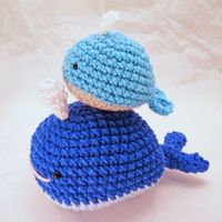HomemadeZen: New Whale Amigurumi in HomemadeZen