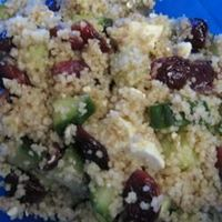 Couscous, Cranberry, and Feta Salad (Texas de Brazil)