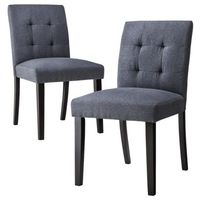 Uptown Tufted Dining Chair Slate - Set of 2 , $179.99