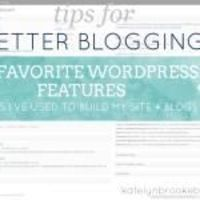 WordPress: my favorite features