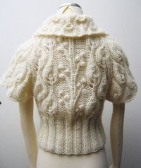 Enchanted Forest Cardi by Handmade by Calista