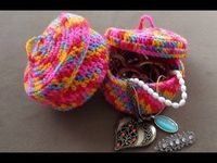 Crochet Jewelry Bowl Part 1 by Crochet Hooks You