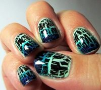 Cracked nail polish