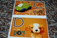 alphabet learning book
