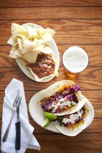 Fish tacos at South Beach Bar & Grille in Ocean Beach