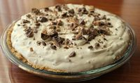 Whipped Chocolate Chunk Peanut Butter Pie