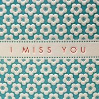 I Miss You by letterpress via seriouscraft #Letterpress