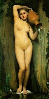 The Source, Ingres, Museum d' Orsay