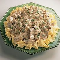 one-dish creamy beef and noodles