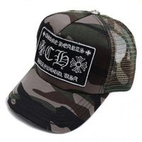 Chrome Hearts 2013 CH Patch Camo Trucker Cap Sale