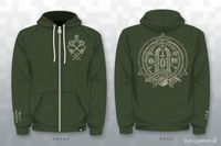 Zelda Temple Hoodie. This needs to be made...