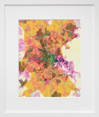 Boston, from Aaron Straup Cope's prettymaps series. Looks perfect in our bedroom!