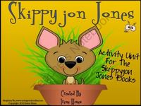 Skippyjon Jones Activity Unit For Judy Schachners Books ~ This unit has 61 pages of ideas, discussion questions, activities, graphic organizers, foldables, projects and printables that correlate with five Skippyjon Jones Books. $