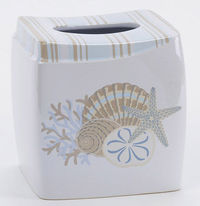 By The Sea Tissue Box Cover