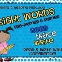 The Dolch Sight Word Pack Includes: Pre-primer and Primer Dolch Word Lists Pre-primer and Primer Dolch Flash Cards in Alphabetical Orde...