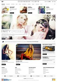 Clothing E-commerce Website by Dogan Aydemir, via Behance