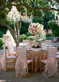 sweet garden party love the chair covers