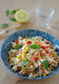 couscous mint salad