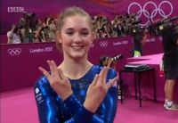 UK Olympic Gymnasts Jennifer Pinches is a freakin' NERDFIGHTER! So much awesome right now.