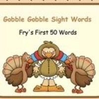 This is a simple SMART Board lesson for students to practice Fry's first 50 words. Each small turkey disappears when clicked. The large middle tur...