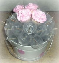 Cupcake Bouquet for tender/delicate cake