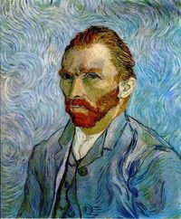 Self-Portrait, 1889 Vincent van Gogh