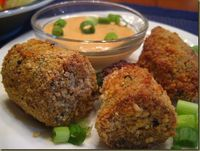 Boudin balls with remoulade