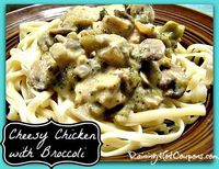 Cheesy Chicken with Broccoli Crock-Pot Recipe (New Year's Resolution Approved!)