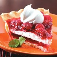 Raspberry Ribbon Pie... been wanting some raspberry deliciousness!