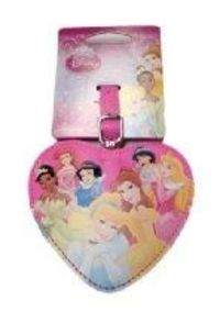 Disney Princess Heart Shape Luggage Tag