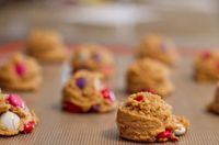 Healthy Valentine's Day Cookies via Chocolate & Carrots