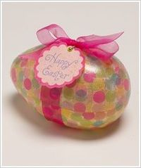 Easter Egg Treat Container #modpodge