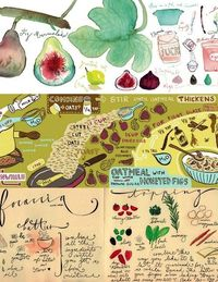 A whole website of illustrated recipes?! I'm quite liking They Draw & Cook. You can search by illustration style, recipe type, or by ingredient!  Fig Marmalade by Lucile PracheOatmeal with Honeyed Figs by Jessica PollakFocacciaby Anita L...