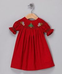 Bought this Christmas dress on Zulily!!
