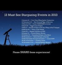 Astronomy must-sees for 2013!
