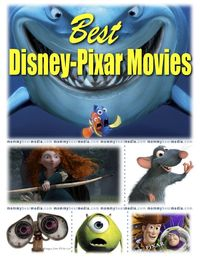 A List of The Best Pixar Movies - MommyBearMedia.com #disney #pixar #movies #tangled #brave #toystory