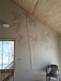 Bas relief tree by the Faux Retreat group.