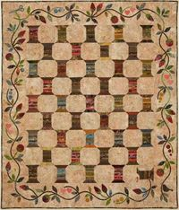 Edyta's spool quilt...her colors are inspirational!