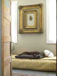 Best dog bed. Photographed by Laura Moss.