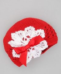 cute Christmas hat for a little girl!