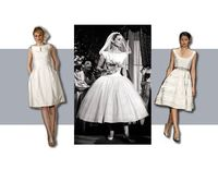 audrey hepburn wedding dress. http://www.labellebride.com/tag/wedding-dress/