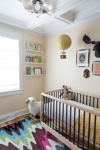 Gender neutral nursery design by rachel grace | photo by courtney apple | 100 Layer Cakelet