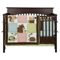 Woolrich Woodlands 3pc Crib Set