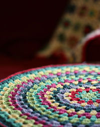crocheting in circles by knitter gal, via Flickr