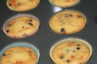 These coconut flour blueberry muffins are so good. Low-carb, and gluten-free, and super tasty!
