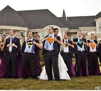 The ultimate, but subtle, nerd wedding.