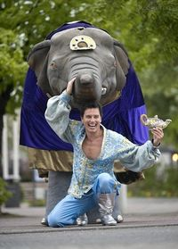 Captain Jack is Aladdin with an elephant WHAT.