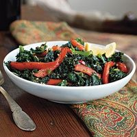 Top-Rated Sides | Kale with Garlic and Peppers | CookingLight.com