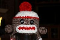Baby Boo Berry: Sock Monkey Hat for Baby Boy