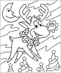funschool kaboose christmas coloring pages - photo#1